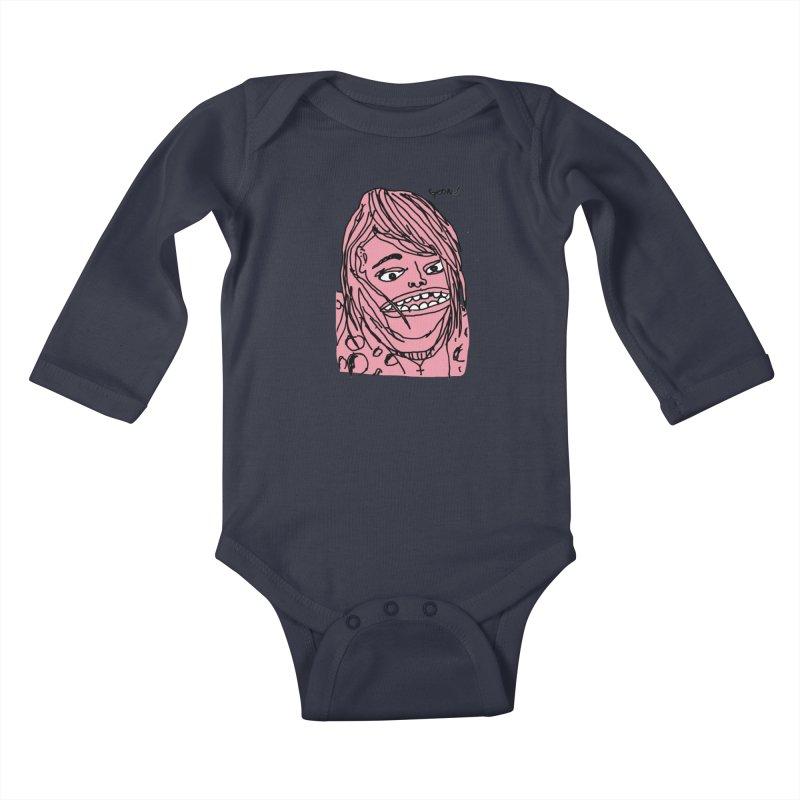 Goonik Kids Baby Longsleeve Bodysuit by GOONS