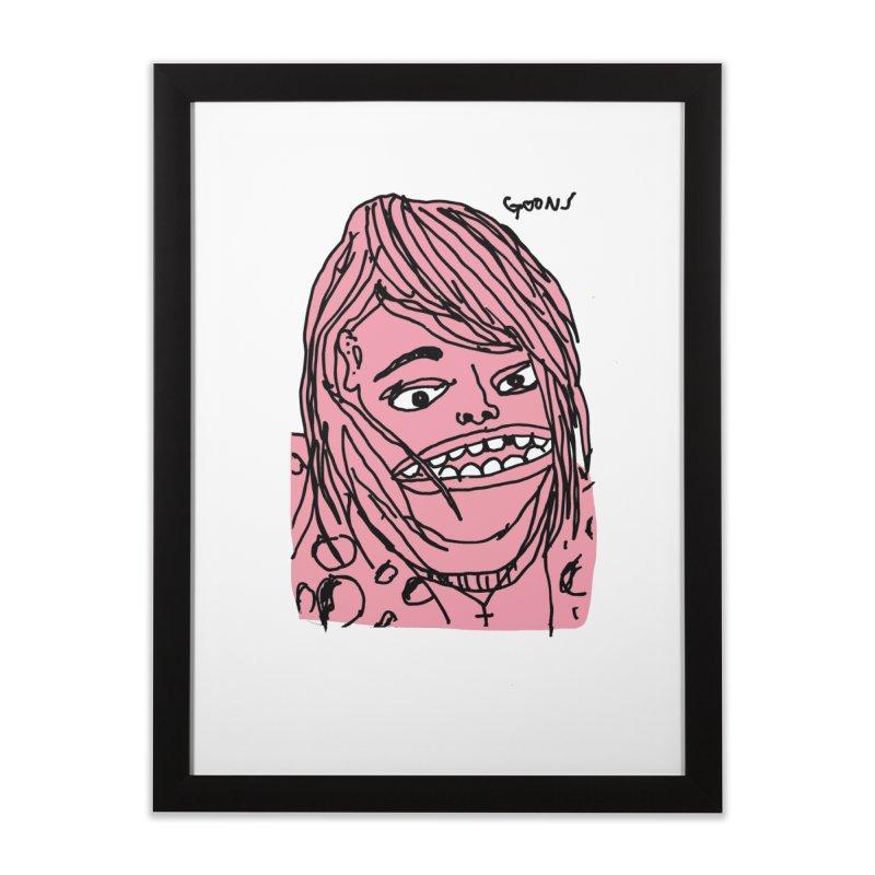 Goonik Home Framed Fine Art Print by GOONS