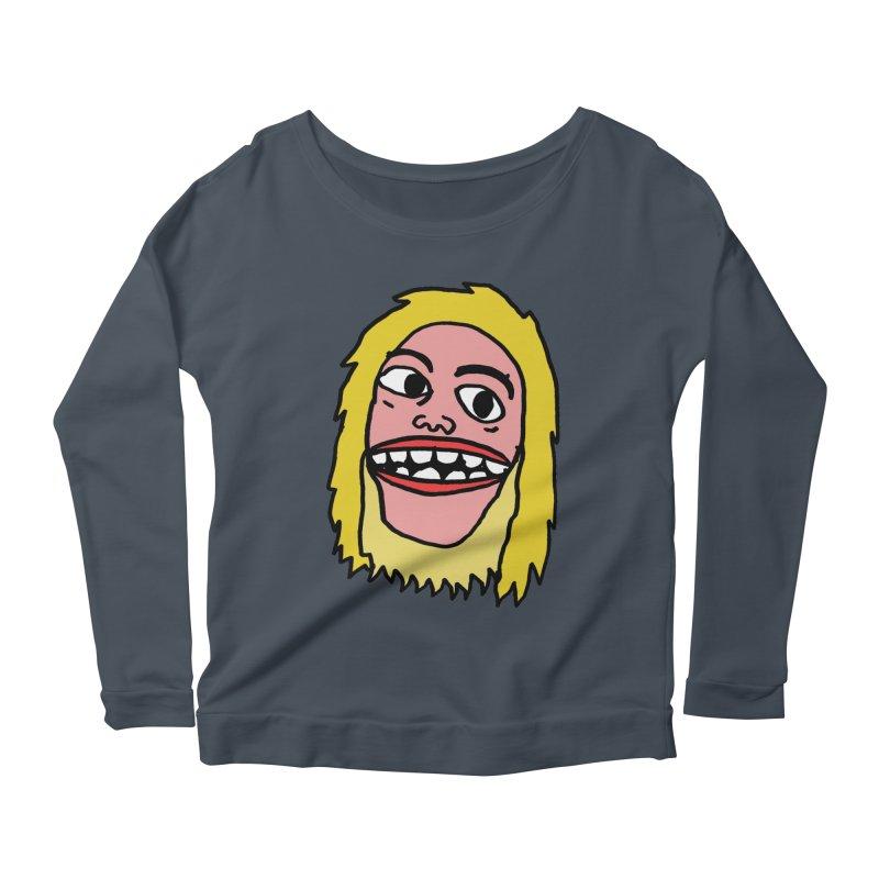 Goonus Women's Scoop Neck Longsleeve T-Shirt by GOONS