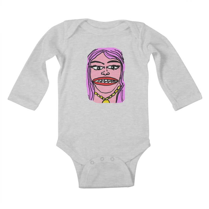 Goonly Kids Baby Longsleeve Bodysuit by GOONS