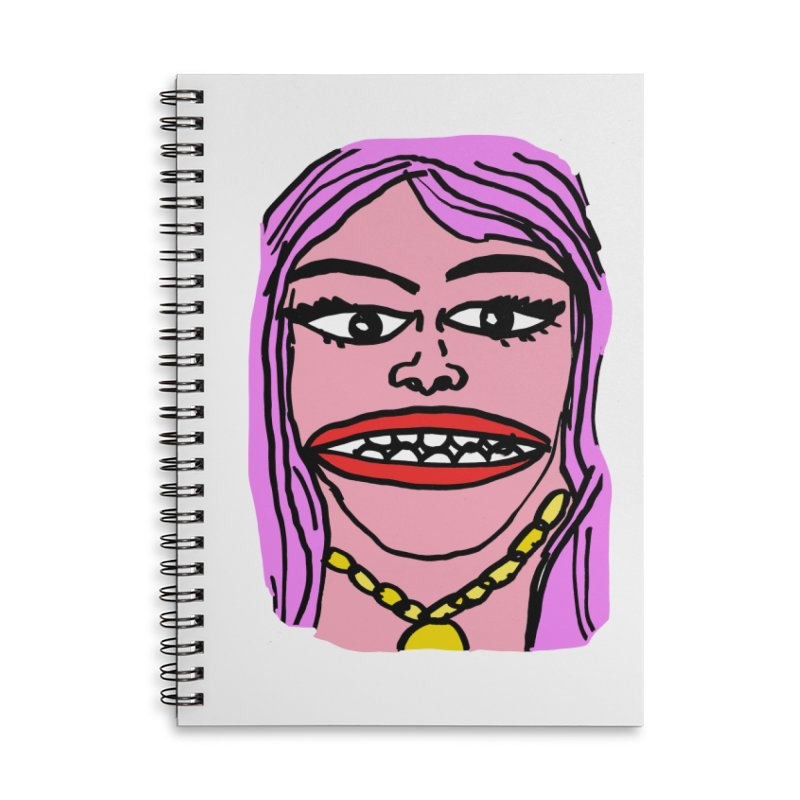 Goonly Accessories Lined Spiral Notebook by GOONS