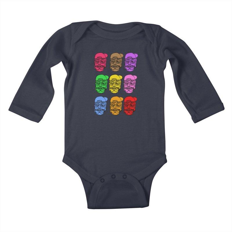 Goonlor Kids Baby Longsleeve Bodysuit by GOONS