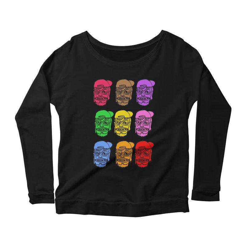 Goonlor Women's Scoop Neck Longsleeve T-Shirt by GOONS