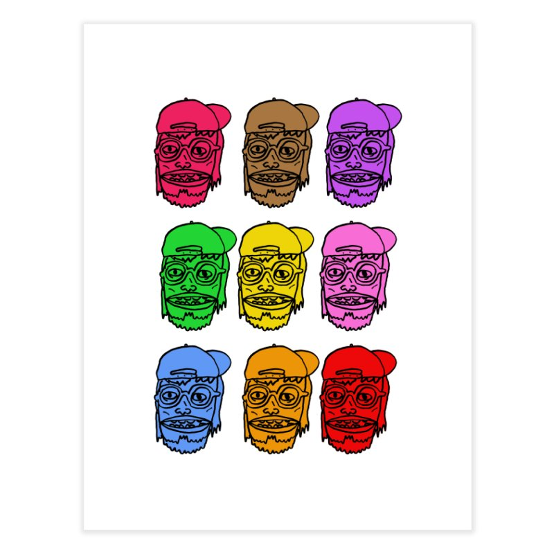 Goonlor Home Fine Art Print by GOONS