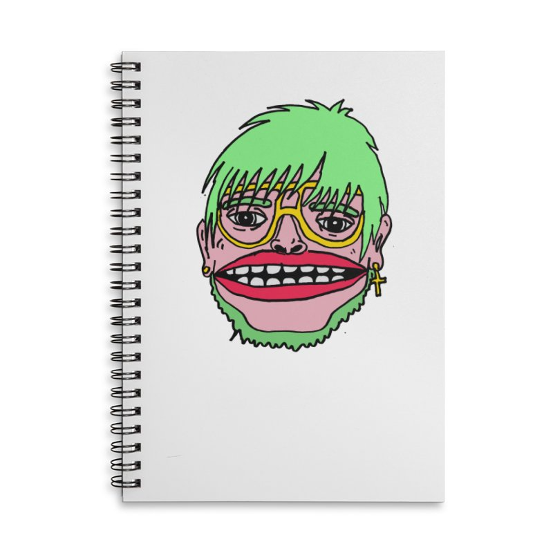 Goonene Accessories Lined Spiral Notebook by GOONS