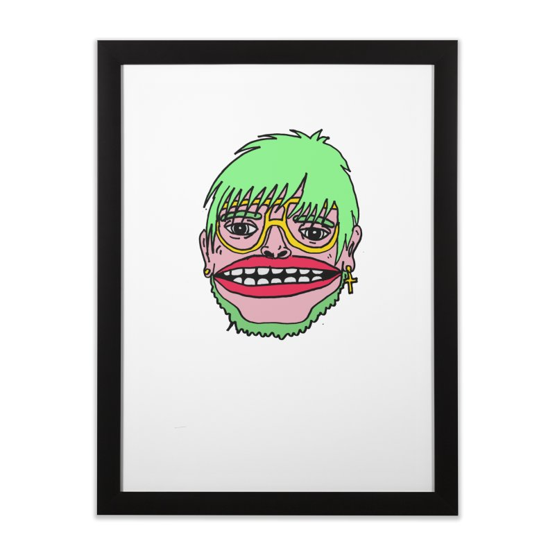 Goonene Home Framed Fine Art Print by GOONS