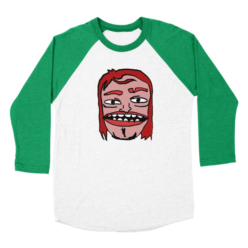 Goonvil Men's Baseball Triblend Longsleeve T-Shirt by GOONS