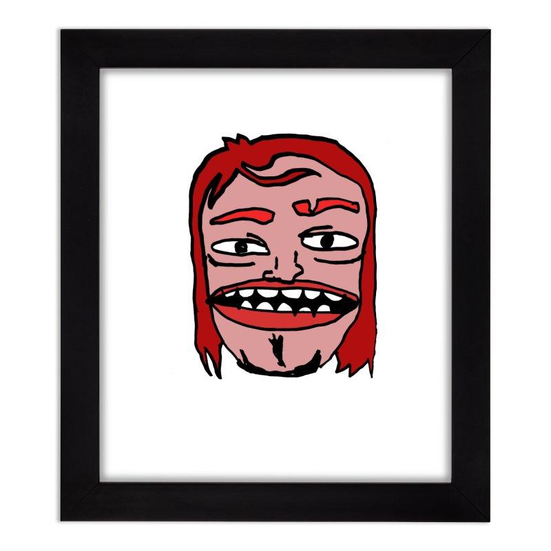Goonvil Home Framed Fine Art Print by GOONS