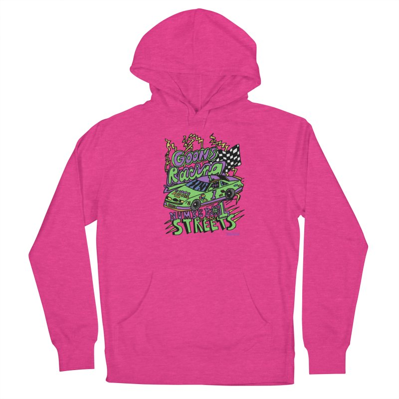 Goons Racing #1 In The Streets Men's French Terry Pullover Hoody by GOONS