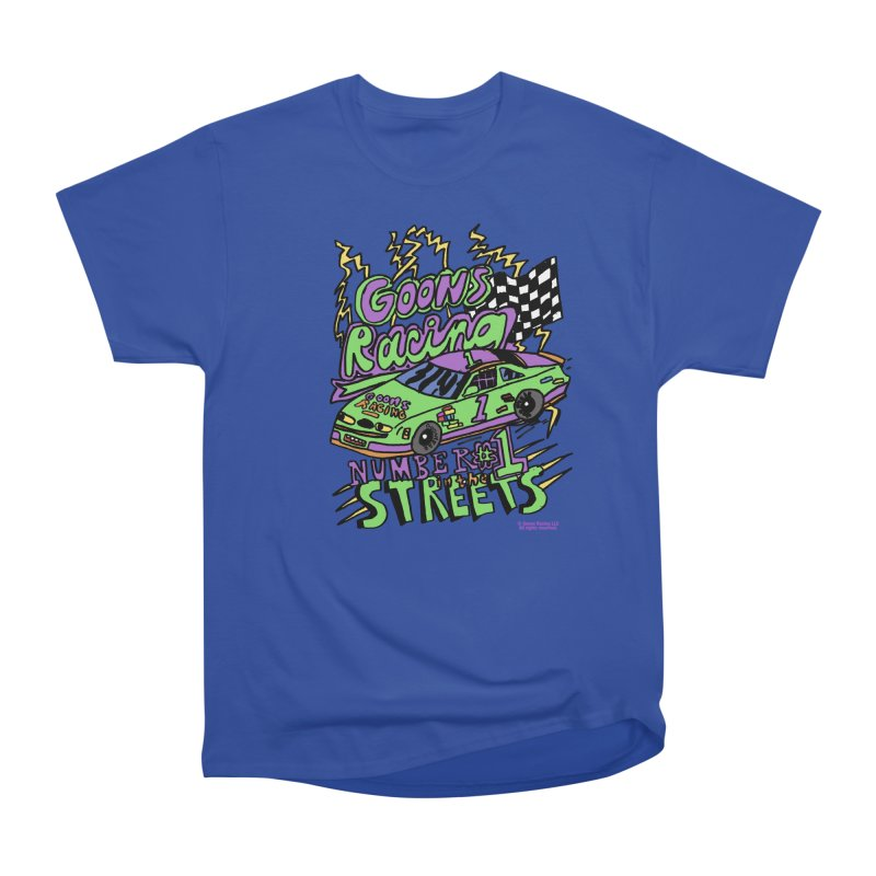 Goons Racing #1 In The Streets Men's Heavyweight T-Shirt by GOONS