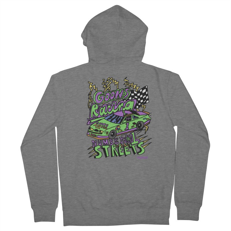 Goons Racing #1 In The Streets Women's French Terry Zip-Up Hoody by GOONS