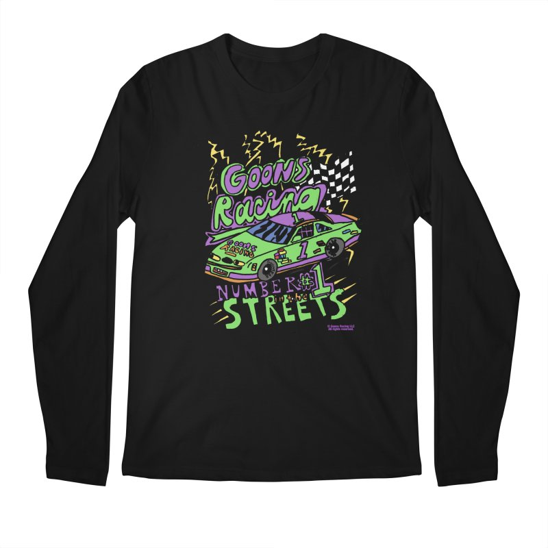 Goons Racing #1 In The Streets Men's Regular Longsleeve T-Shirt by GOONS