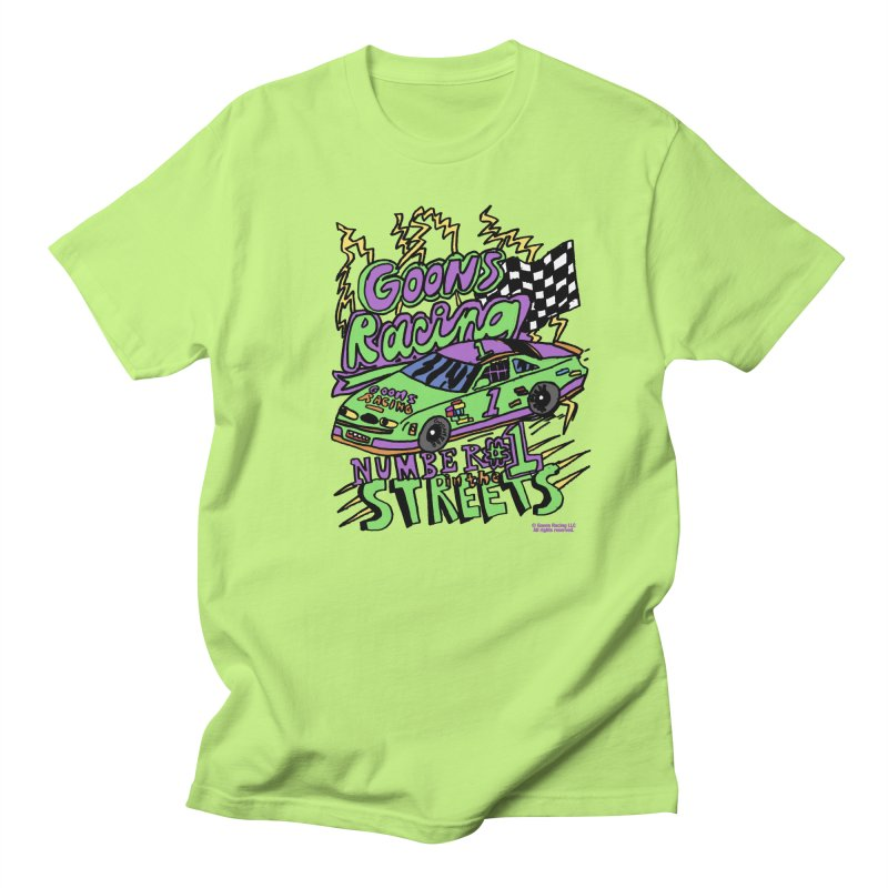 Goons Racing #1 In The Streets Women's Regular Unisex T-Shirt by GOONS