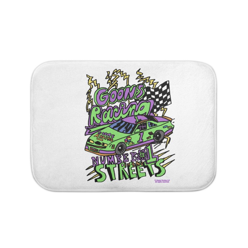Goons Racing #1 In The Streets Home Bath Mat by GOONS