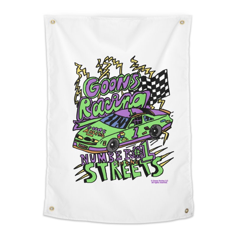 Goons Racing #1 In The Streets Home Tapestry by GOONS