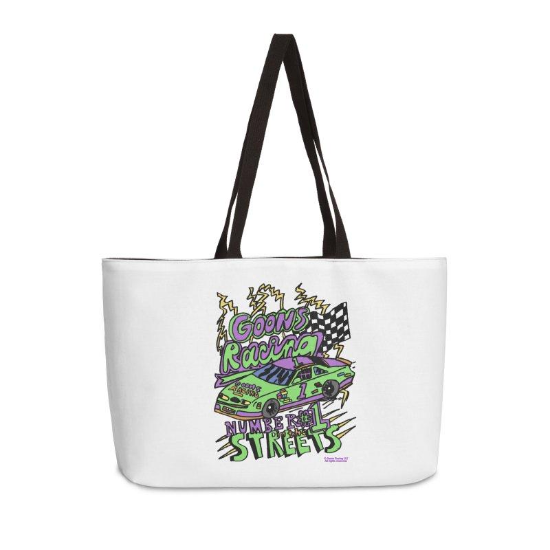 Goons Racing #1 In The Streets Accessories Weekender Bag Bag by GOONS