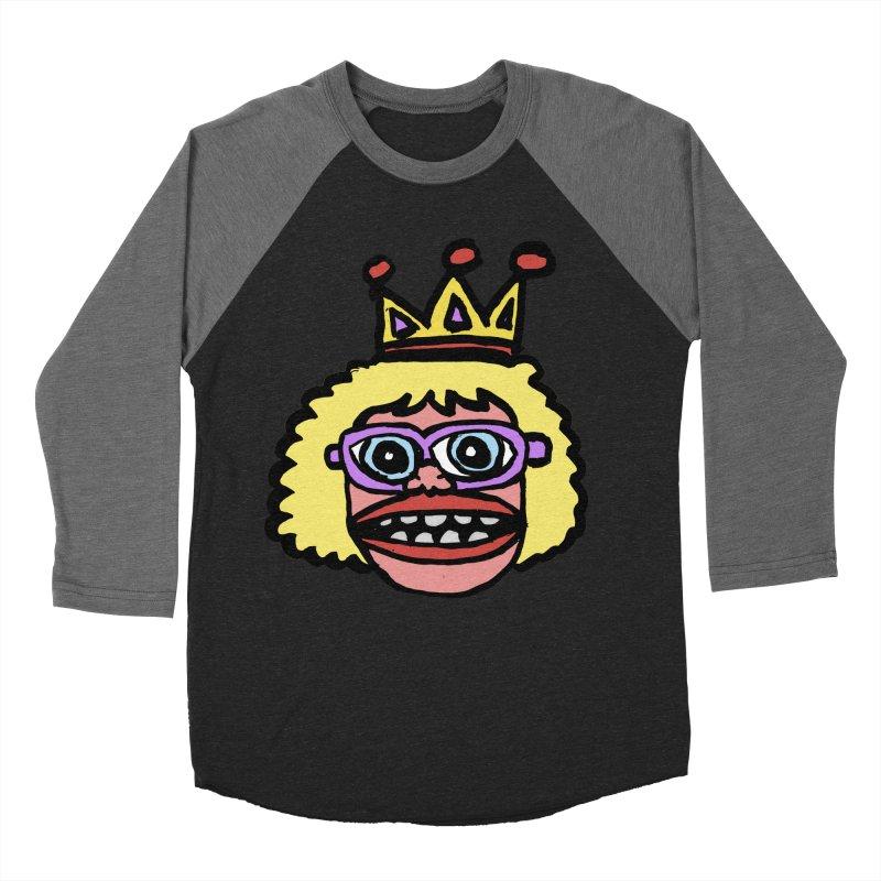 King Women's Baseball Triblend Longsleeve T-Shirt by GOONS