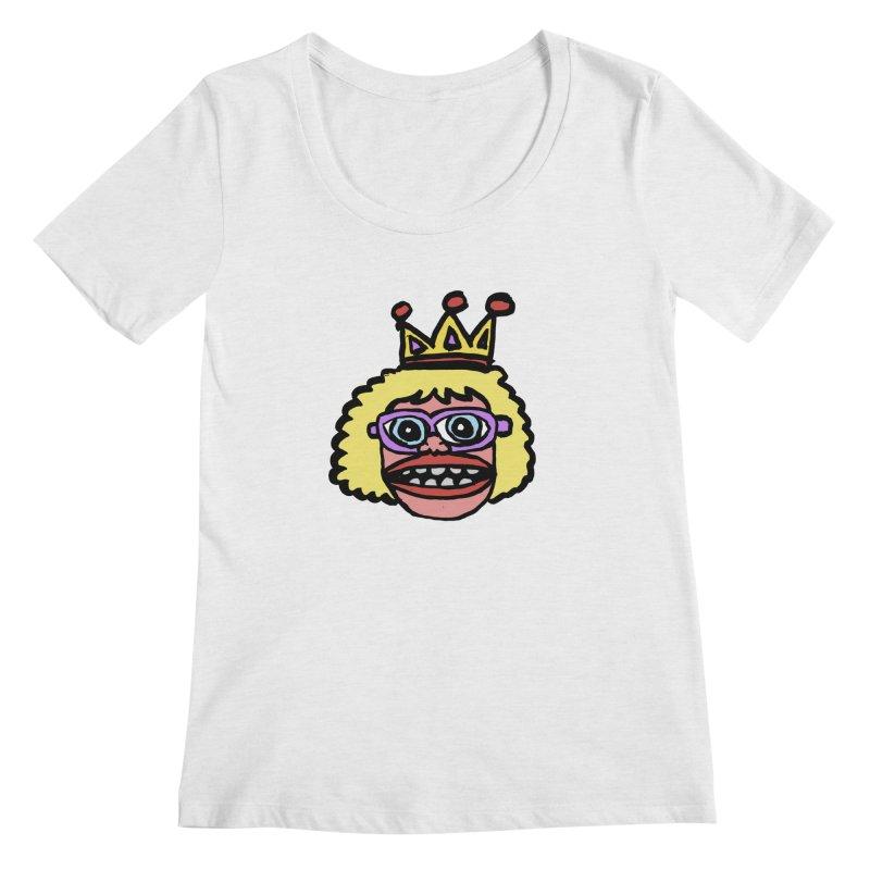 King Women's Regular Scoop Neck by GOONS