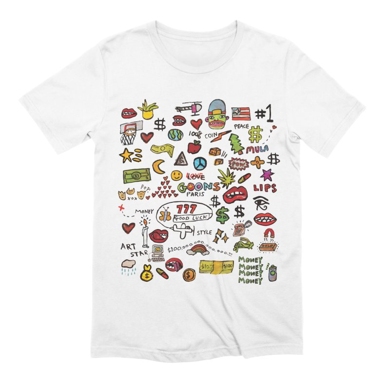 MULA in Men's Extra Soft T-Shirt White by GOONS