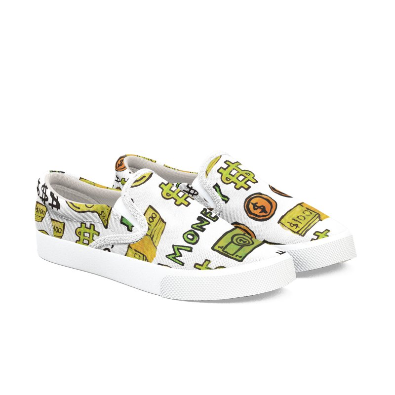 Money Women's Slip-On Shoes by GOONS