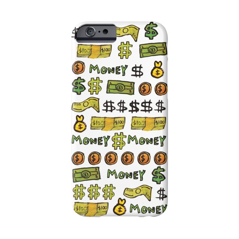 Money Accessories Phone Case by GOONS