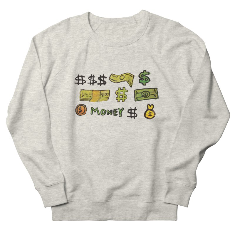Money in Men's French Terry Sweatshirt Heather Oatmeal by GOONS