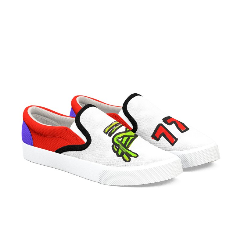 Lucky Grasshopper Women's Slip-On Shoes by GOONS