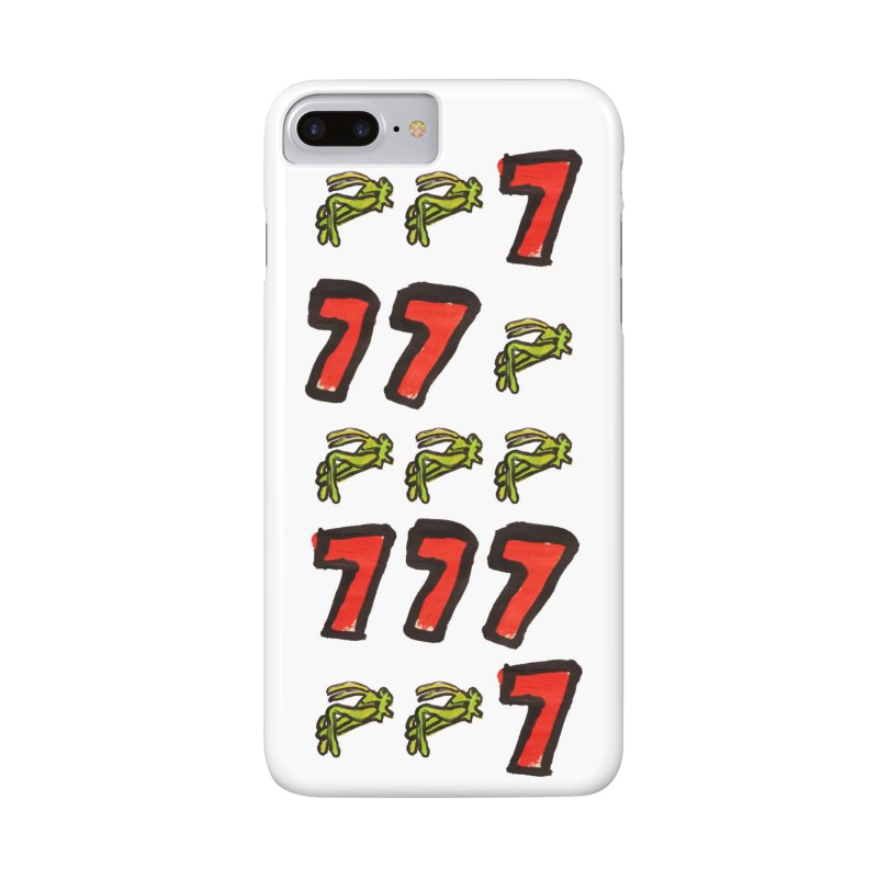 Lucky Grasshopper Accessories Phone Case by GOONS