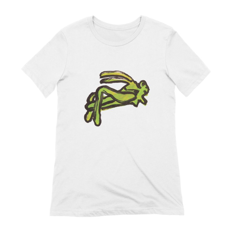 Lucky Grasshopper Women's T-Shirt by GOONS