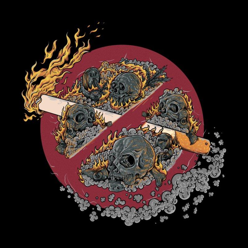 Smoke Becomes Fire Men's T-Shirt by Gop's Artist Shop