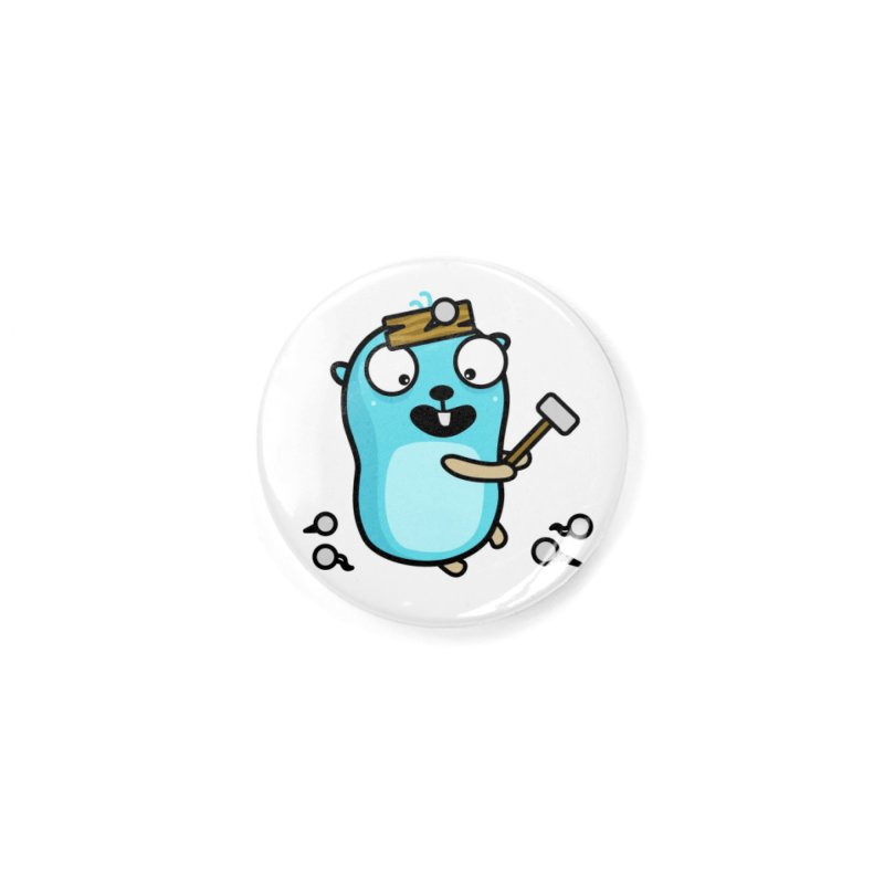 Oh no Accessories Button by Be like a Gopher