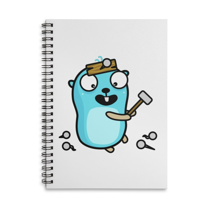 Oh no Accessories Notebook by Be like a Gopher