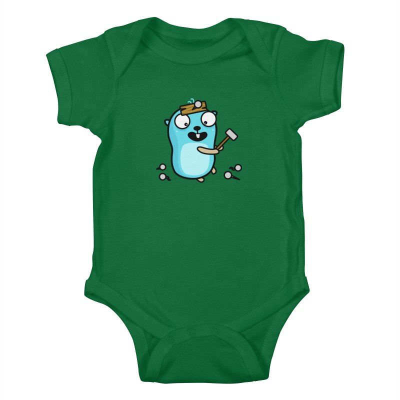 Oh no Kids Baby Bodysuit by Be like a Gopher