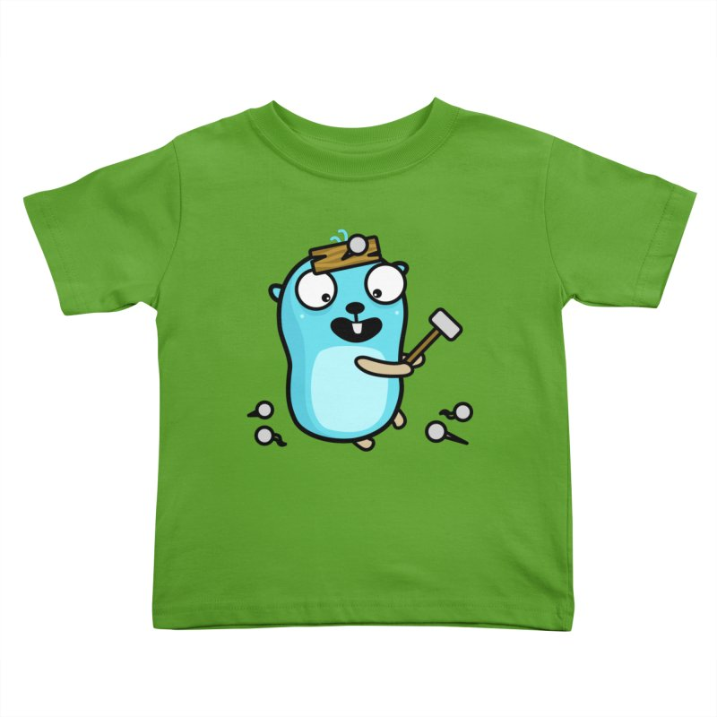 Oh no Kids Toddler T-Shirt by Be like a Gopher