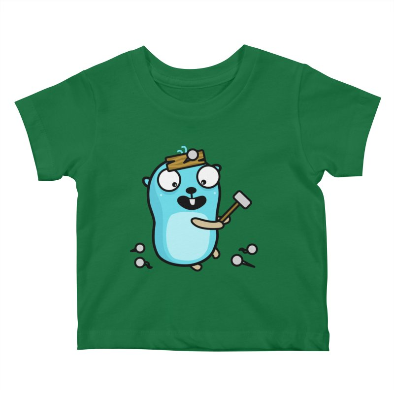 Oh no Kids Baby T-Shirt by Be like a Gopher