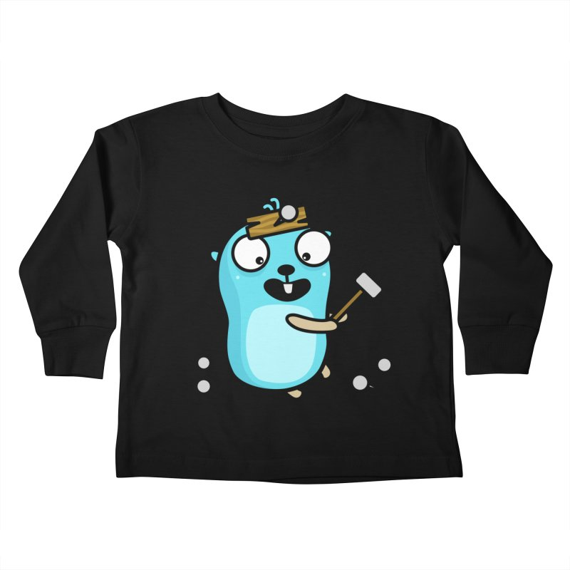 Oh no Kids Toddler Longsleeve T-Shirt by Be like a Gopher