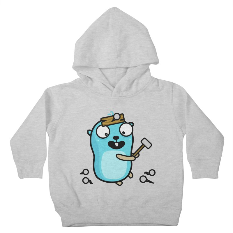 Oh no Kids Toddler Pullover Hoody by Be like a Gopher