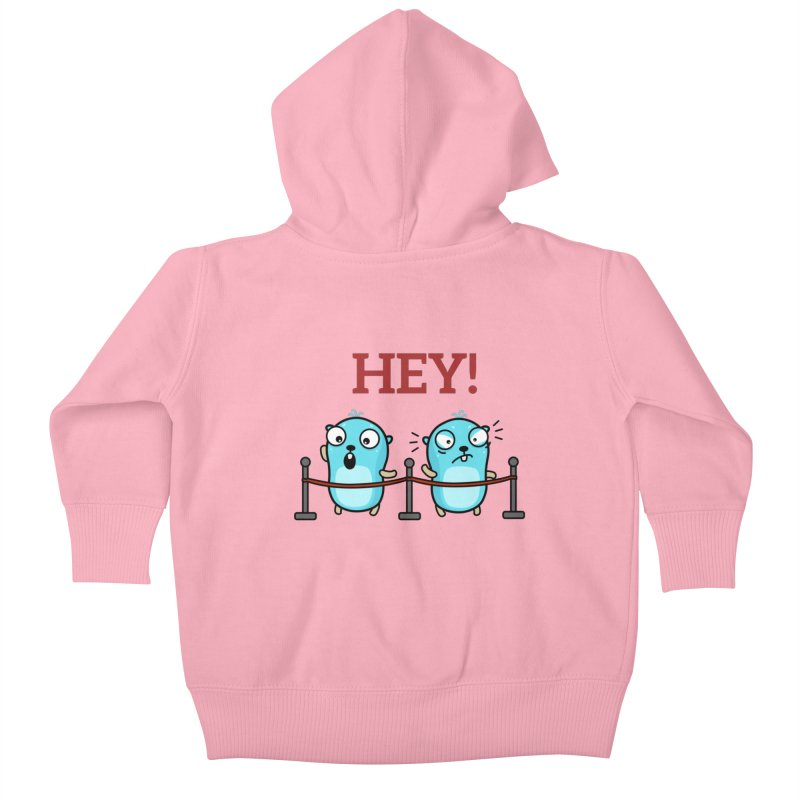 Hey! Kids Baby Zip-Up Hoody by Be like a Gopher
