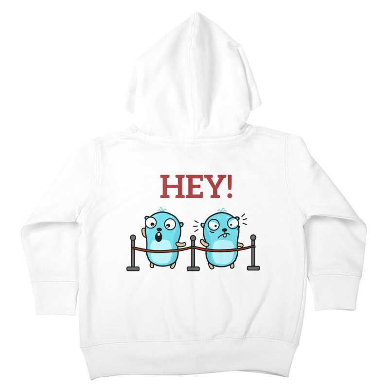 Hey! Kids Toddler Zip-Up Hoody by Be like a Gopher