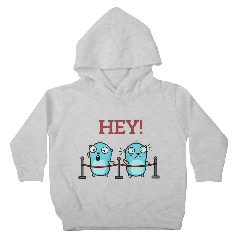 Hey! Kids Toddler Pullover Hoody by Be like a Gopher