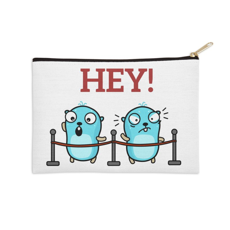 Hey! Accessories Zip Pouch by Be like a Gopher