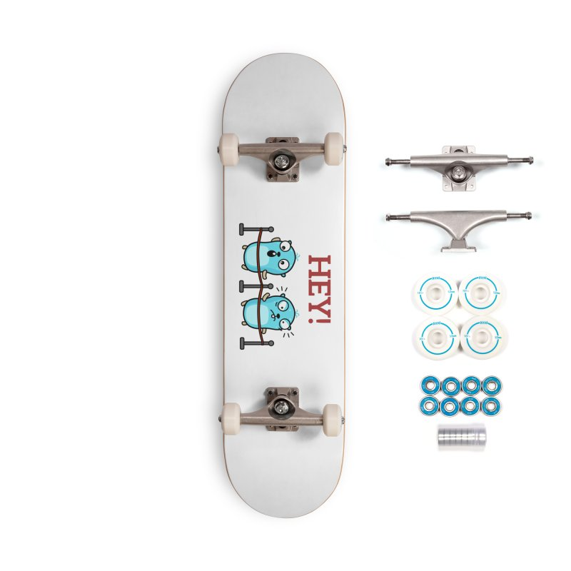 Hey! Accessories Skateboard by Be like a Gopher