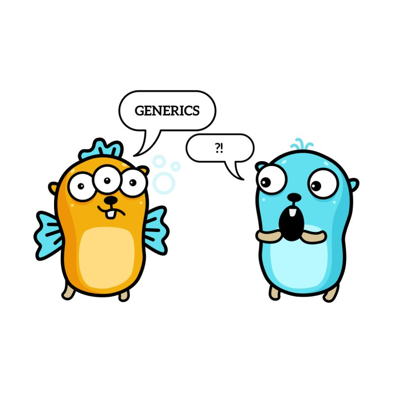 Generics in Go Accessories Notebook by Be like a Gopher
