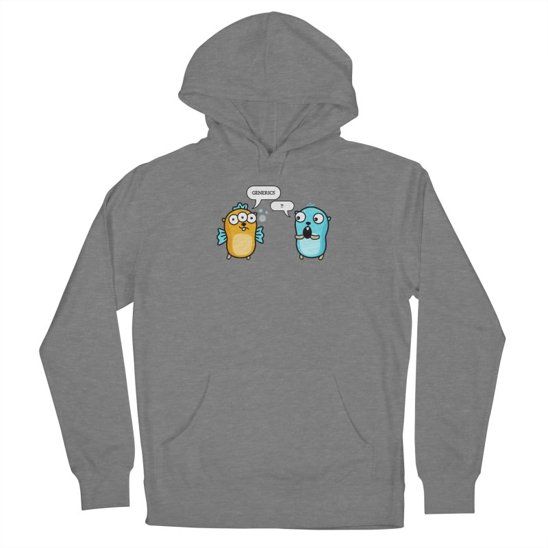 Generics in Go Women's Pullover Hoody by Be like a Gopher