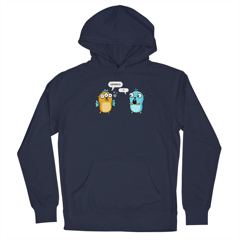 Generics in Go Men's Pullover Hoody by Be like a Gopher