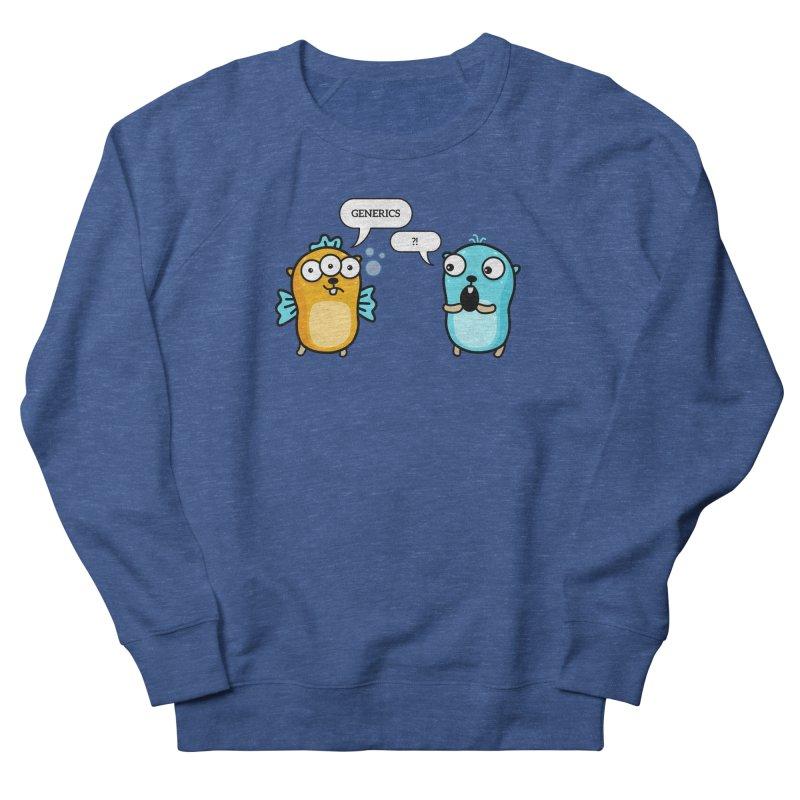 Generics in Go Men's Sweatshirt by Be like a Gopher