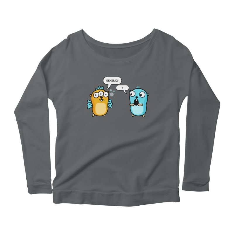 Generics in Go Women's Longsleeve T-Shirt by Be like a Gopher