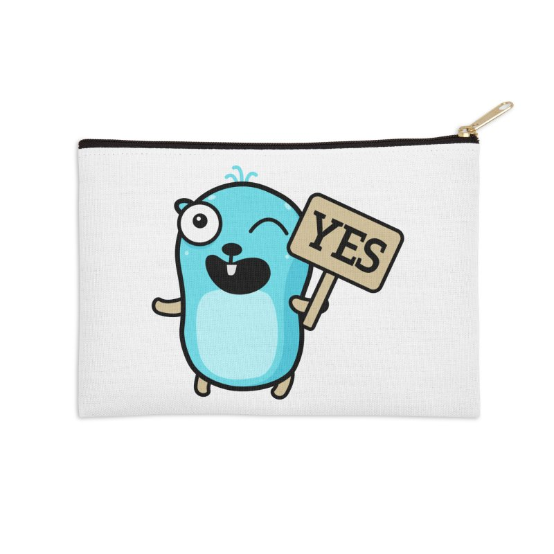 Yes Accessories Zip Pouch by Be like a Gopher