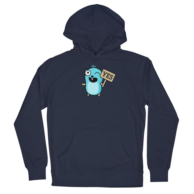 Yes Men's Pullover Hoody by Be like a Gopher