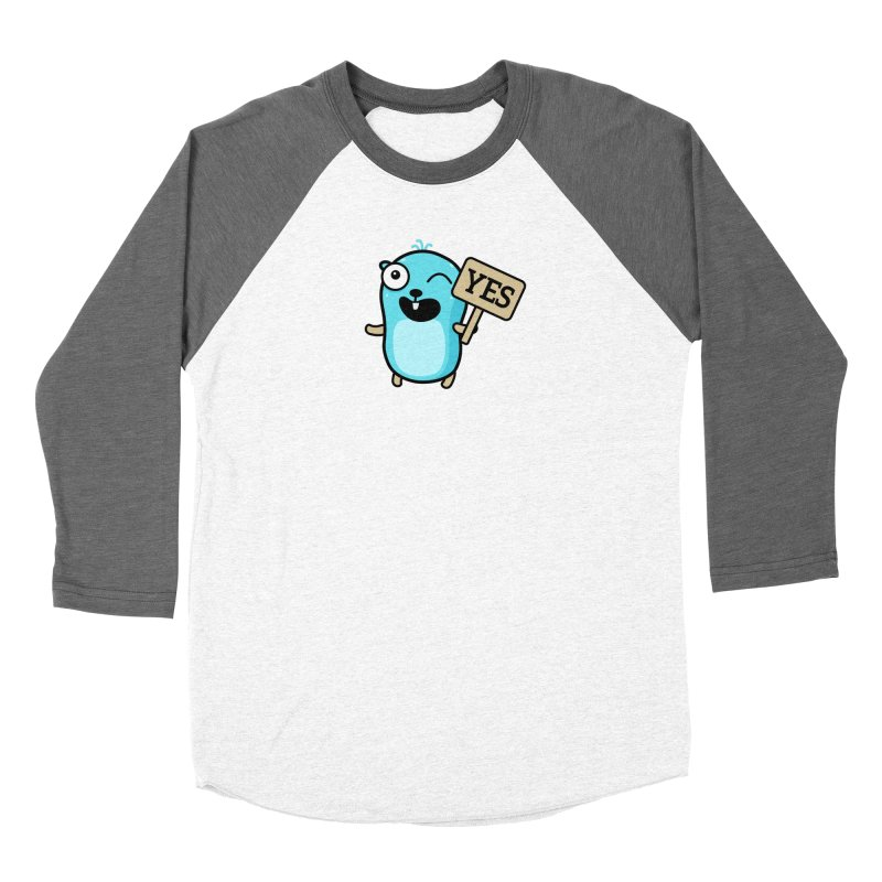 Yes Women's Longsleeve T-Shirt by Be like a Gopher